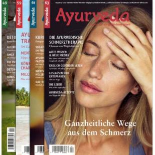 Diese Fachzeitschrift deckt eine grosse Bandbreite an ayurvedischen Themen ab